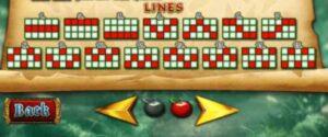 สัญลักษณ์ เละ LINES ในเกมสล็อตโรบินฮู้ด
