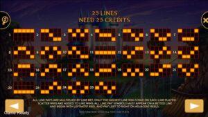 สัญลักษณ์ และ LINES เกมสล็อต วิซาร์ด